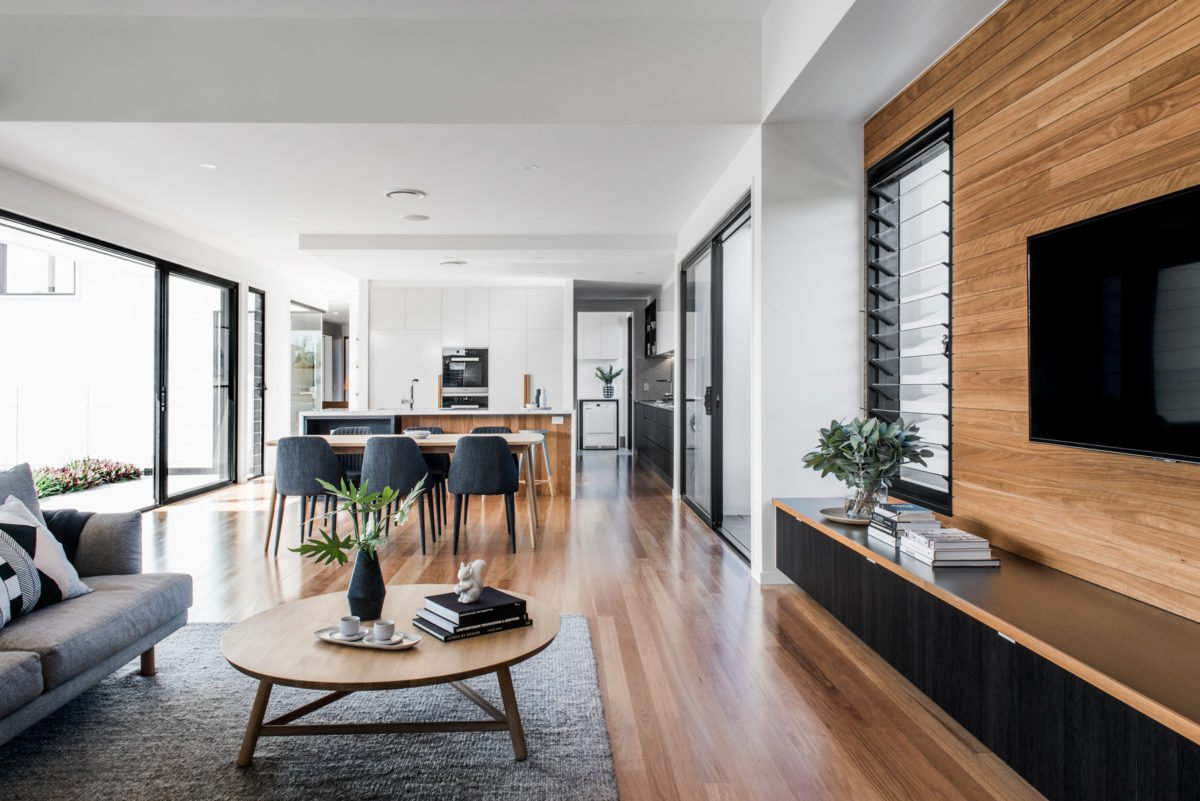 Kalka Rochedale display home living space