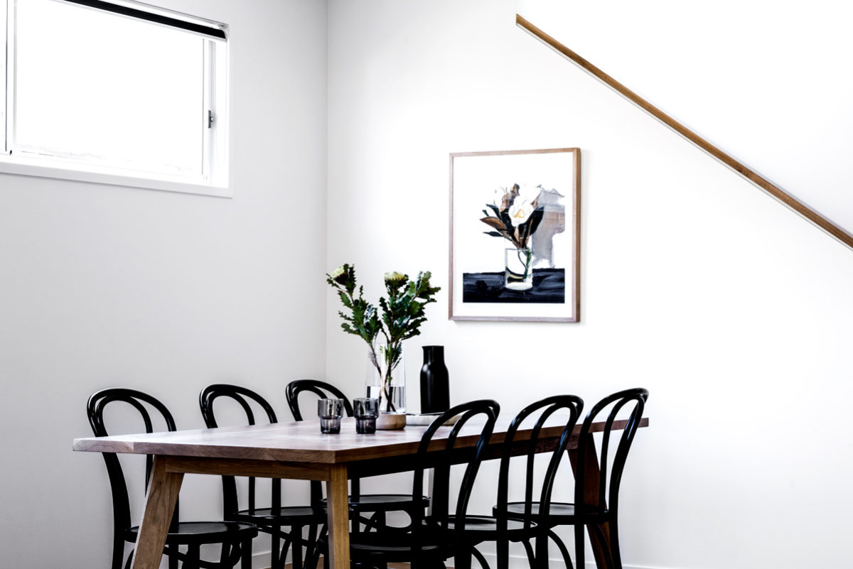 Kalka Manly display home dining space