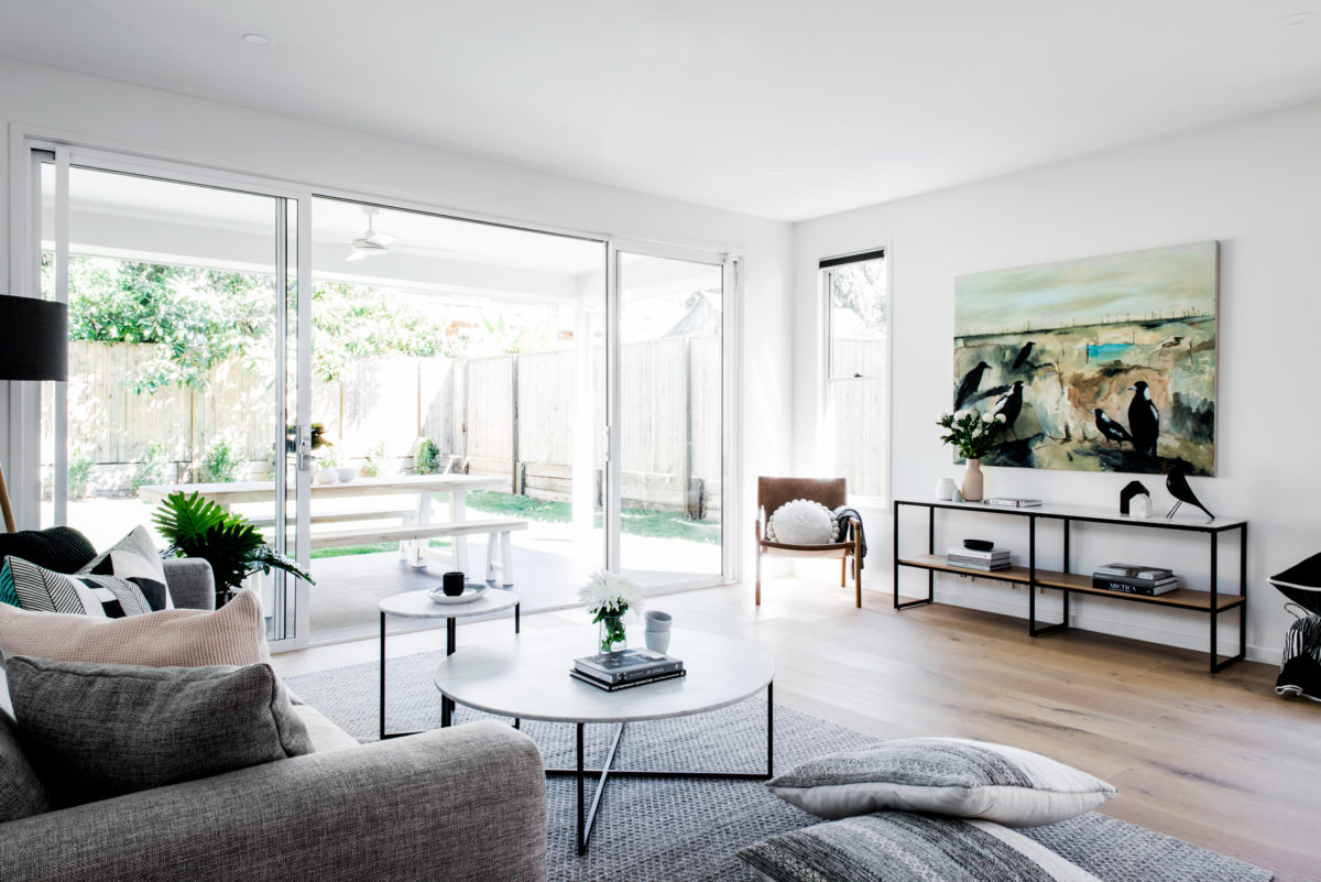 Kalka Manly display home living space