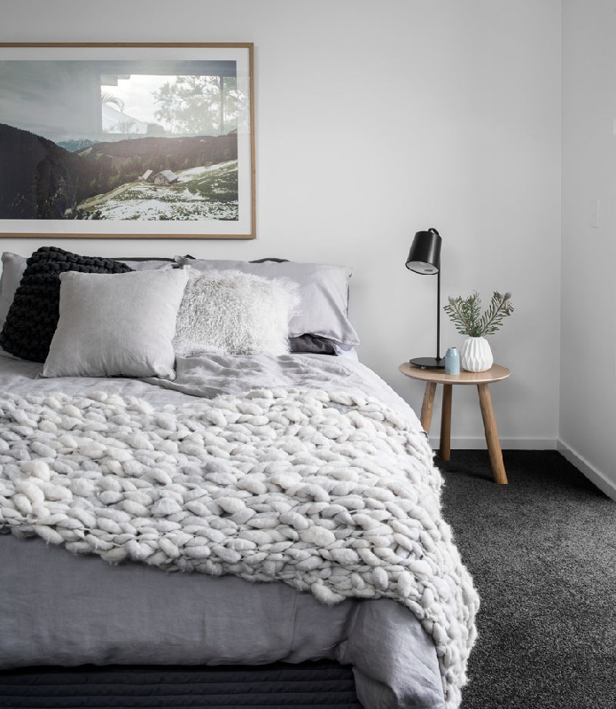 Kalka Wooloowin display home bedroom
