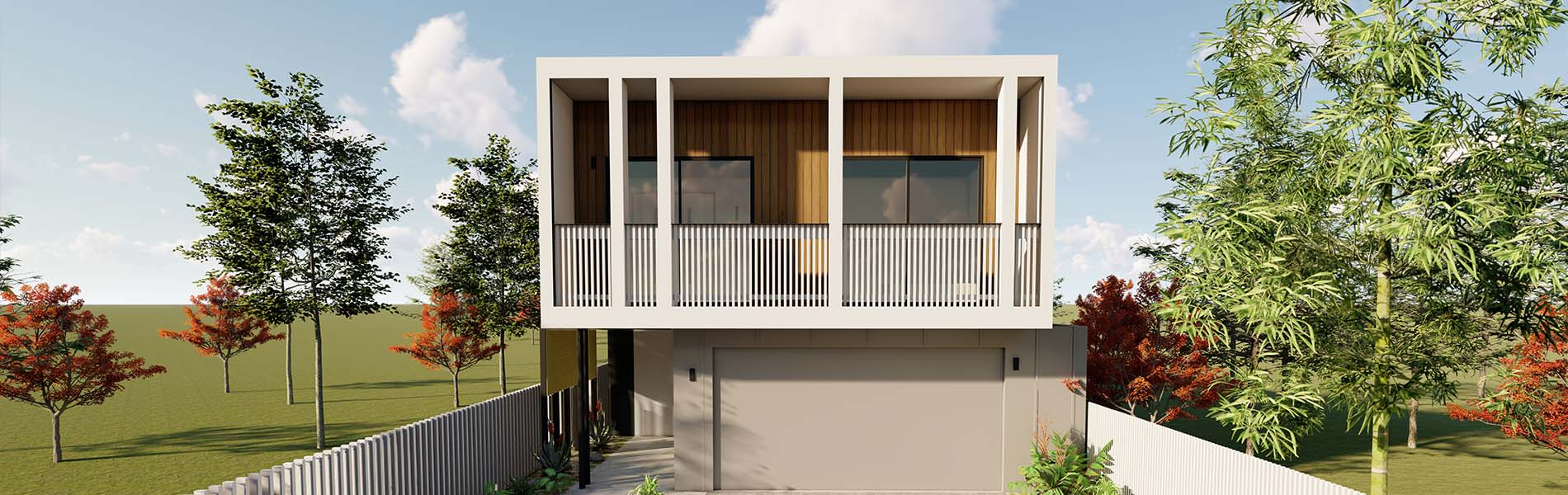 Kalka - Narrow Lot Home Design