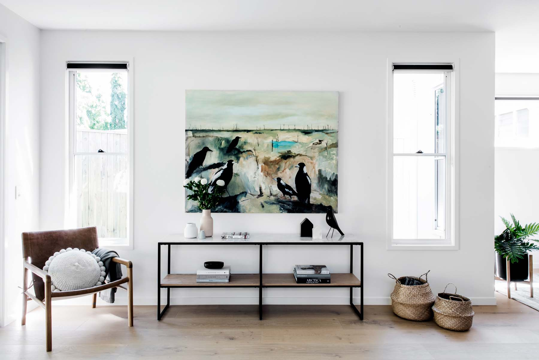 Kalka Display Home in Manly. Artwork by Robyn Kirk, photography by Cathy Schusler.