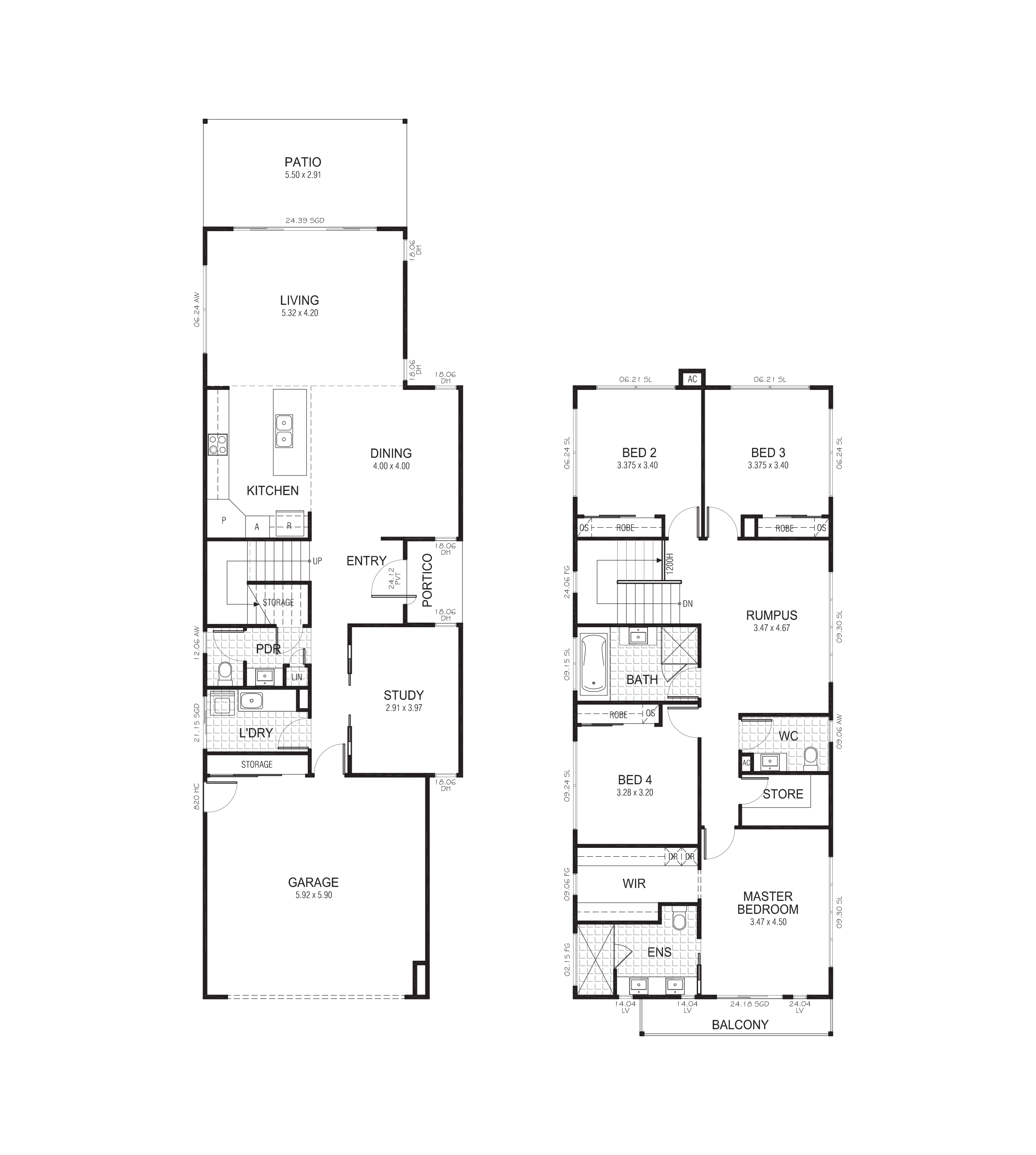 Burdekin 270 - Floor Plan