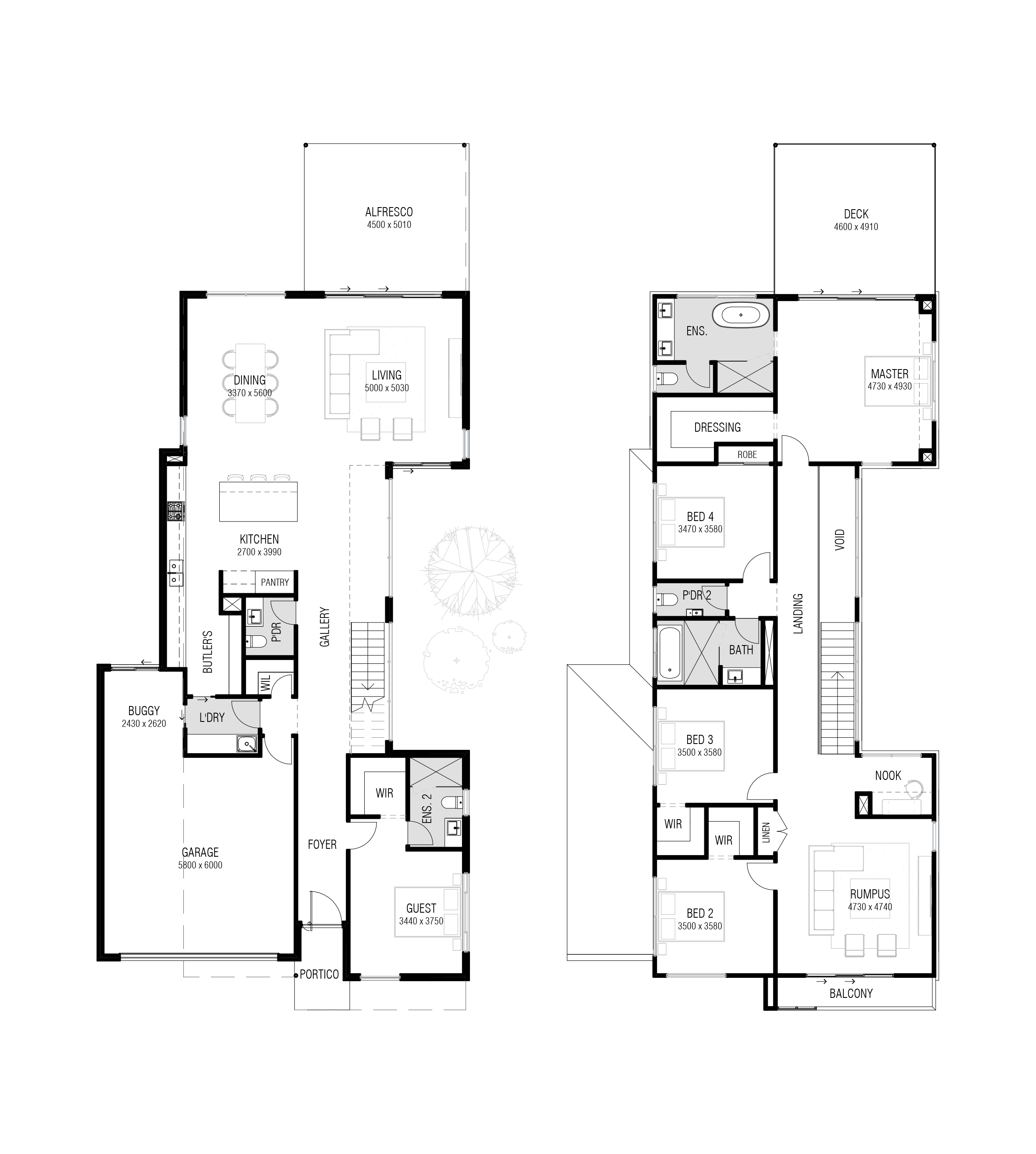 Coolum 400 - Floor Plan