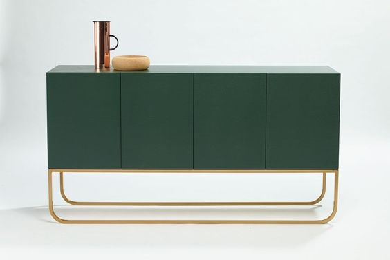 Grazia and Co. Green Side Board. Image Courtesy of Pinterest.