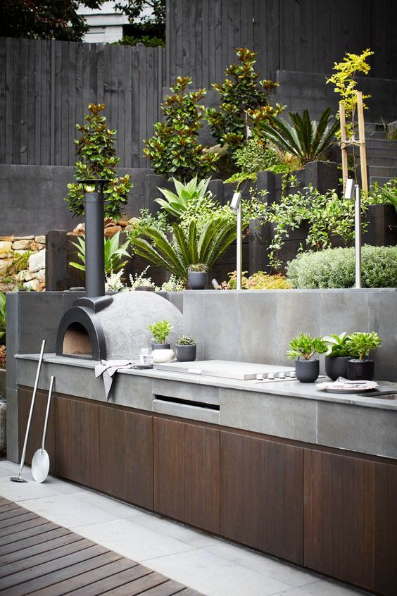 Outdoor Kitchen image curtousy of pinterest