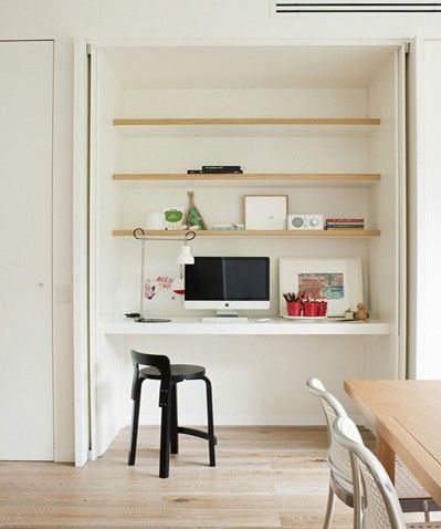 Study nook Courtesy of Pinterest