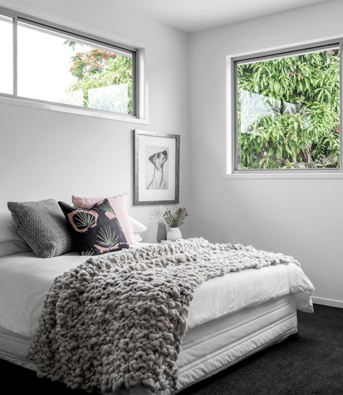 Window height requirements - why our upstairs bedroom windows are so high